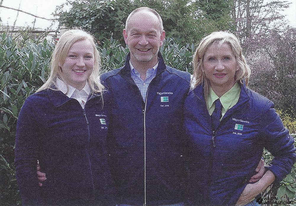 Photo of Sarah, Uwe and Heike of Wagyu-Genetics